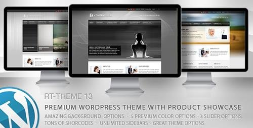 ThemeForest - RT-Theme 13 v2.7 - Multi-Purpose WordPress Theme - 157692