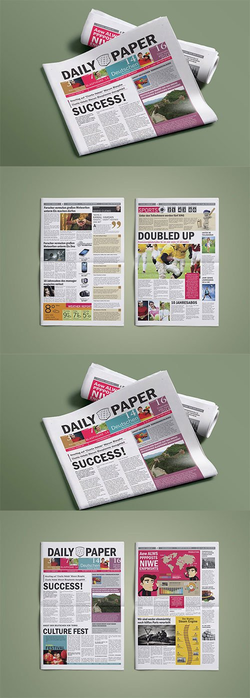 DailyPaper : Newspaper Template