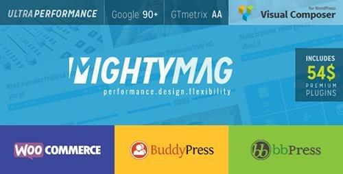 ThemeForest - MightyMag v2.1 - Magazine, Shop, Community WP Theme - 8193358