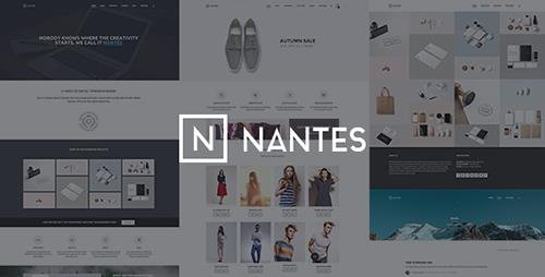 ThemeForest - Nantes v1.5.3 - Creative Ecommerce & Corporate Theme - 9359640