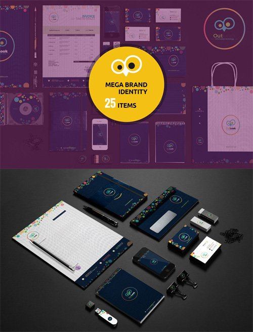 Mega Branding Corporate Identity Pack
