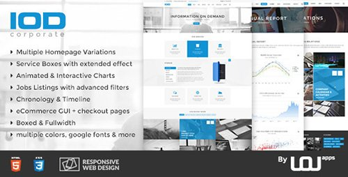 ThemeForest - IOD - Corporate HTML Template (Update: 22 January 16) - 13945793