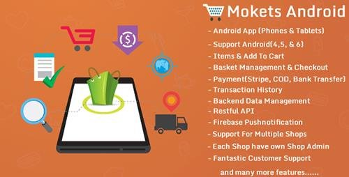 CodeCanyon - Mokets v1.0.5 (Mobile Commerce Android Full Application) - 17545222