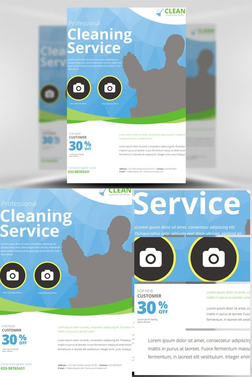 Flyer Template - Cleaning Service