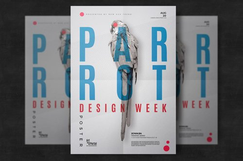 Minimal Event Flyer Template PSD