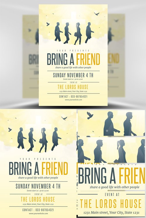 Flyer Template - Bring A Friend