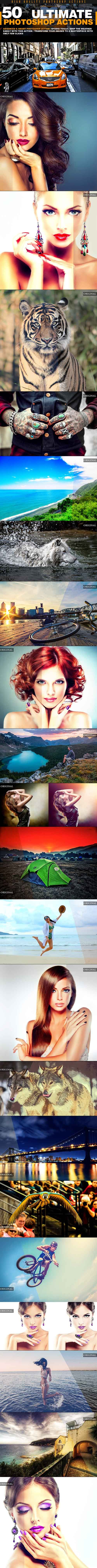 Graphicriver - 50 PRO Photo Effex 2 Actions 20221117