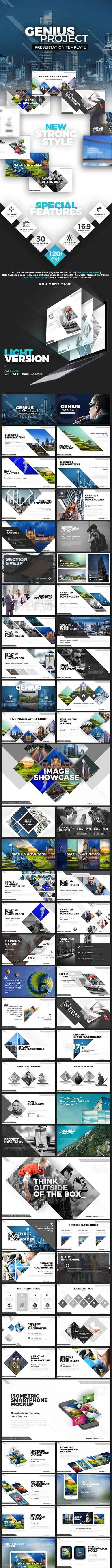 Genius Project Presentation Template 19728566