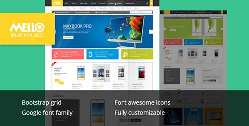 ThemeForest - Mello - Ecommerce Responsive Html Template (Update: 5 August 15) - 12055979