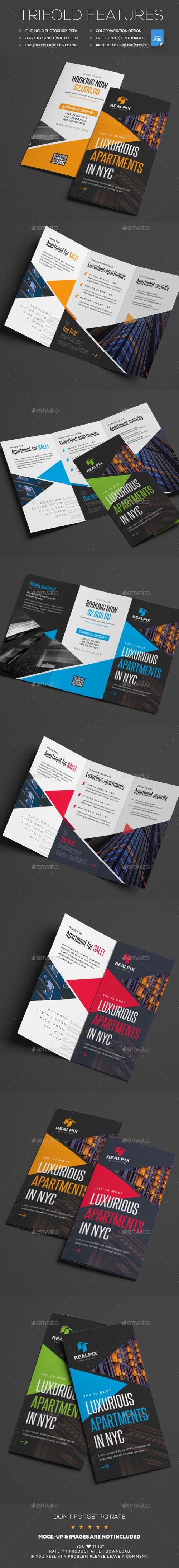 Graphicriver - Trifold 20235148