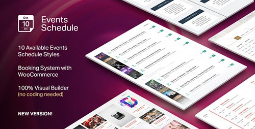 CodeCanyon - Events Schedule v2.0.5 - WordPress Plugin - 14907462