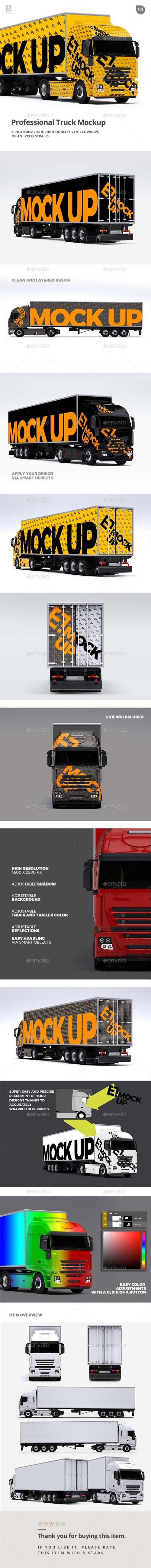 Truck Mockup 20276038