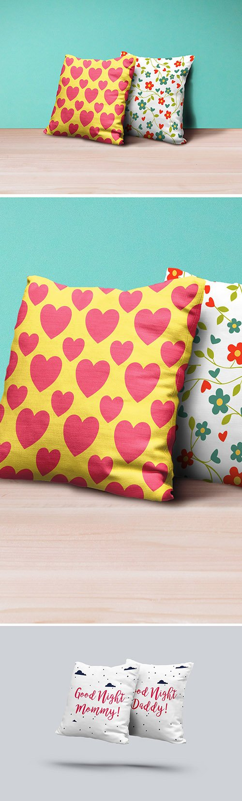 PSD Mock-Ups - Pillows