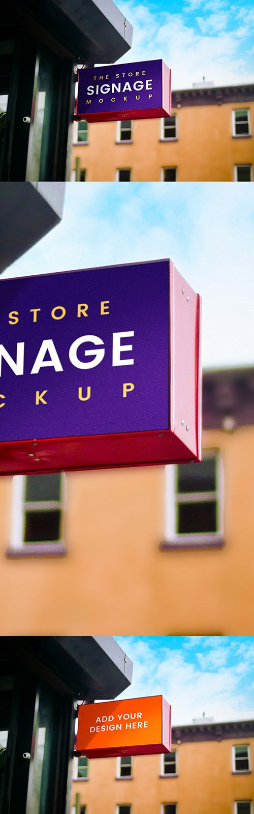 PSD Mock-Up - Outdoor Store Signage