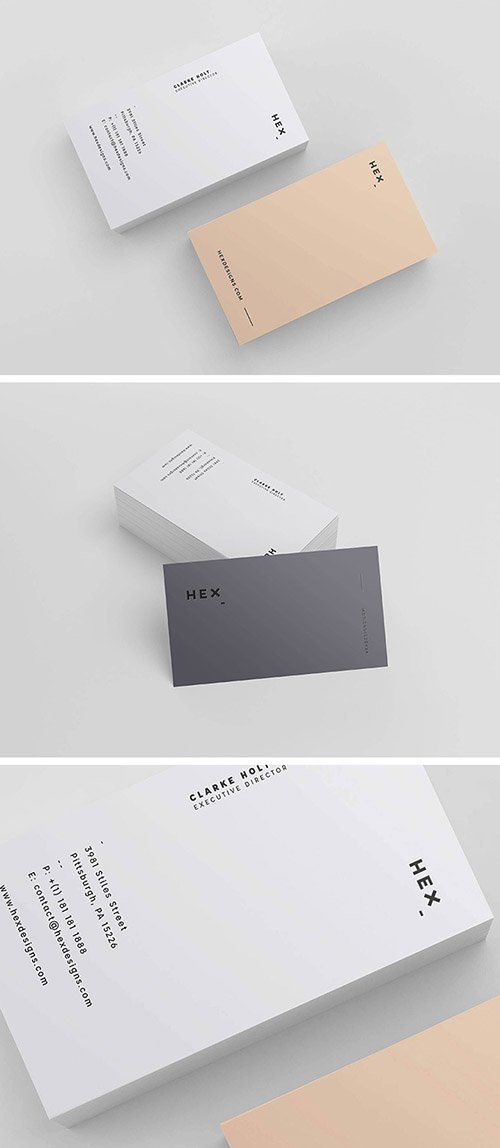PSD Template - HEX Business Card