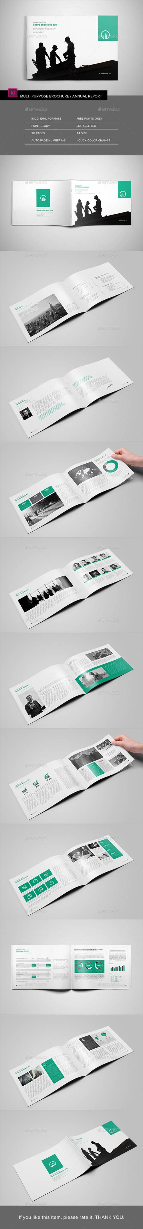 Landscape Multipurpose Brochure 15613396