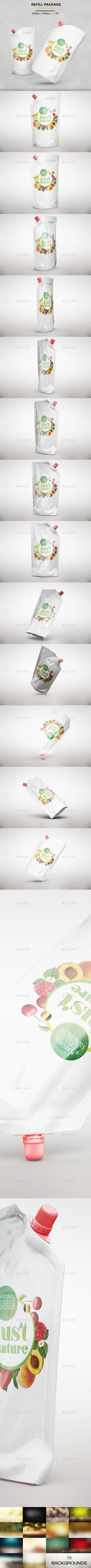 Refill Package MockUp 20292212
