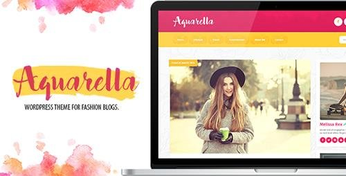 ThemeForest - Aquarella v1.1.7.5 - Lifestyle Theme for Digital Influencers, Bloggers & Travelers - 16984774
