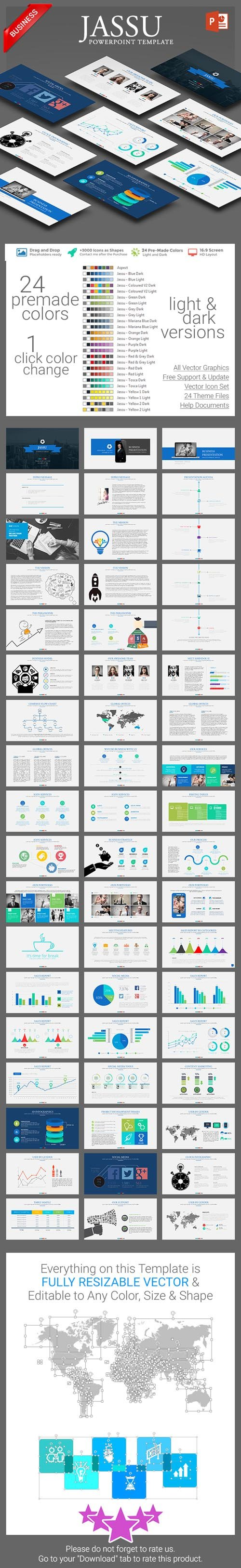 Jassu Business Template 13377682
