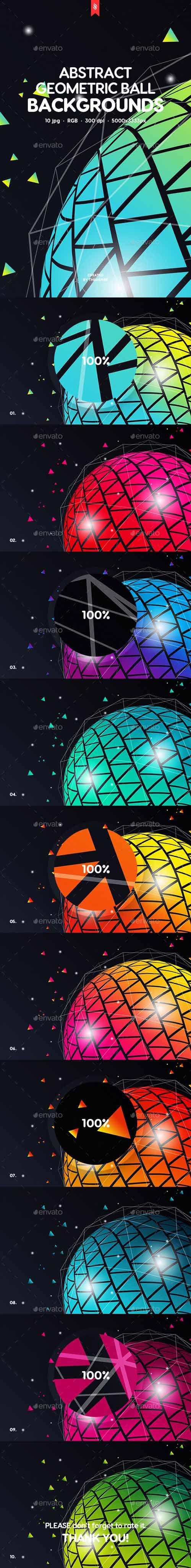 Geometric Ball Backgrounds 20342413