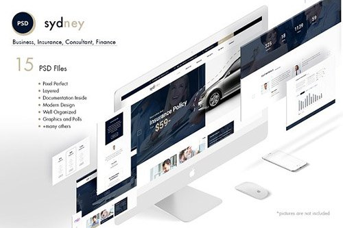 Sydney - Premium Finance/Business PSD - CM 1616709