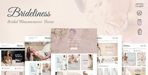 ThemeForest - Brideliness v1.0.6 - Wedding Shop WordPress WooCommerce Theme - 19535925