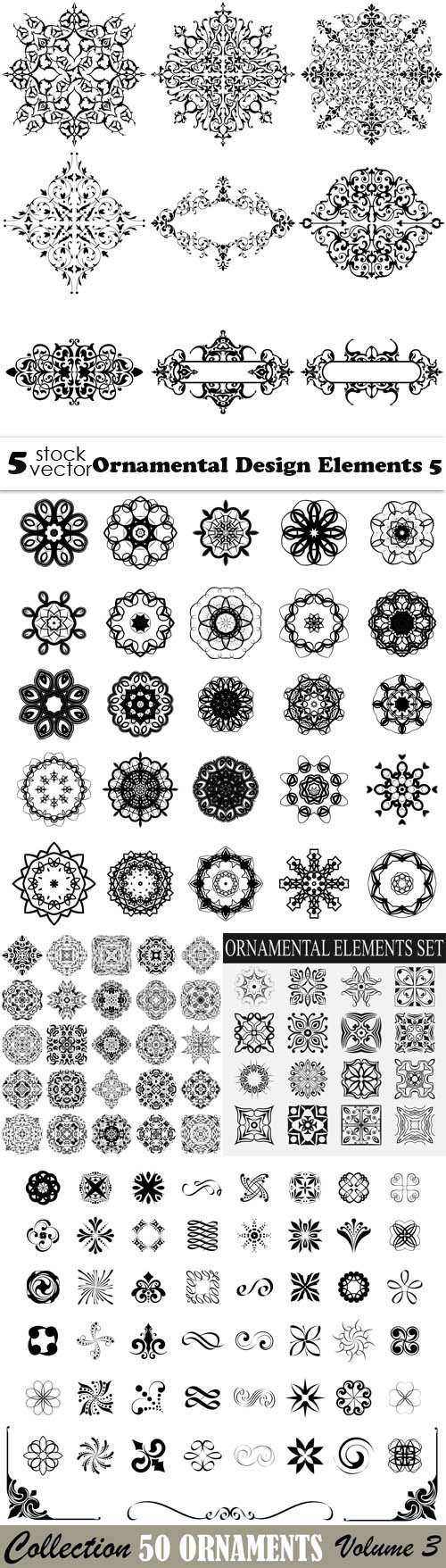 Vectors - Ornamental Design Elements 5
