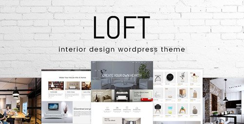 ThemeForest - Loft v1.0.0 - Interior Design WordPress Theme - 20027041