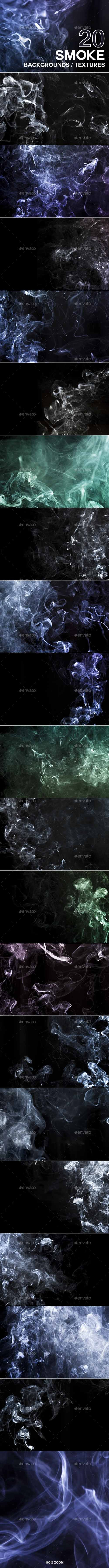 20 Smoke Backgrounds / Textures 20348204