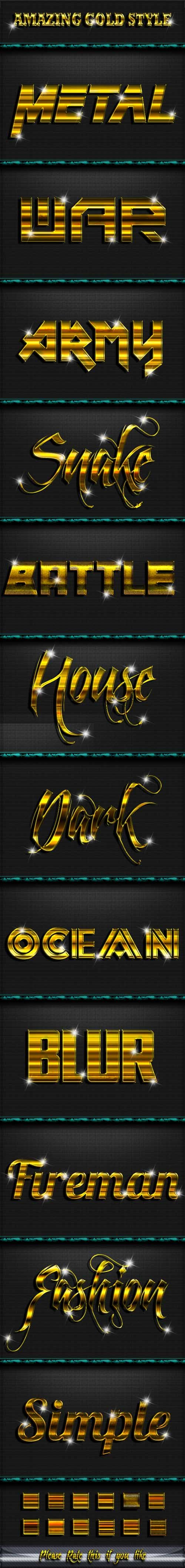 Graphicriver - Gold Style Text Effect V.2 20244817