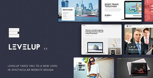 ThemeForest - LEVELUP v1.1.14 - Responsive Creative Multipurpose WordPress Theme - 15896734
