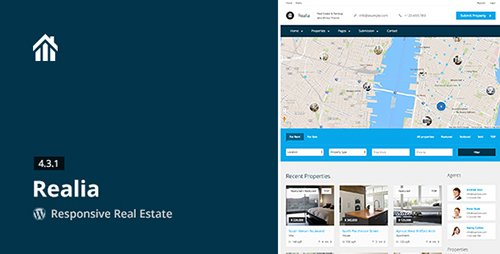ThemeForest - Realia v4.3.1 - Responsive Real Estate WordPress Theme - 4789838