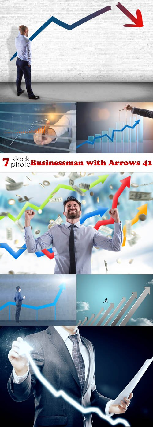 Photos - Businessman with Arrows 41