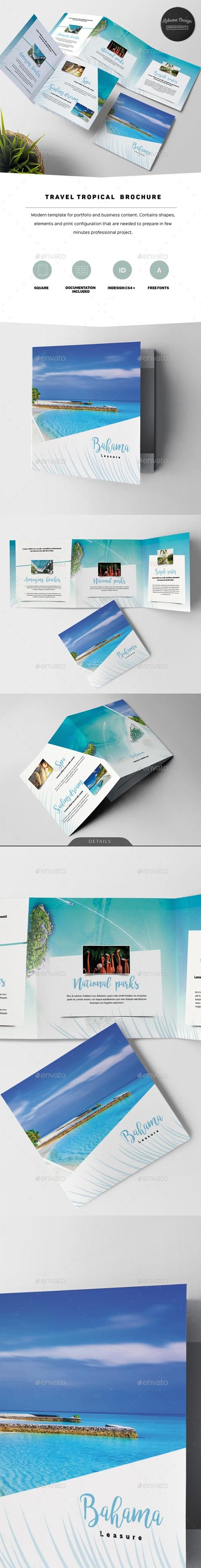 GraphicRiver - Travel Tropical Brochure 20351742