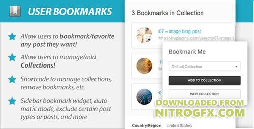 CodeCanyon - WordPress User Bookmarks (Standalone version) v3.3 - 6584179