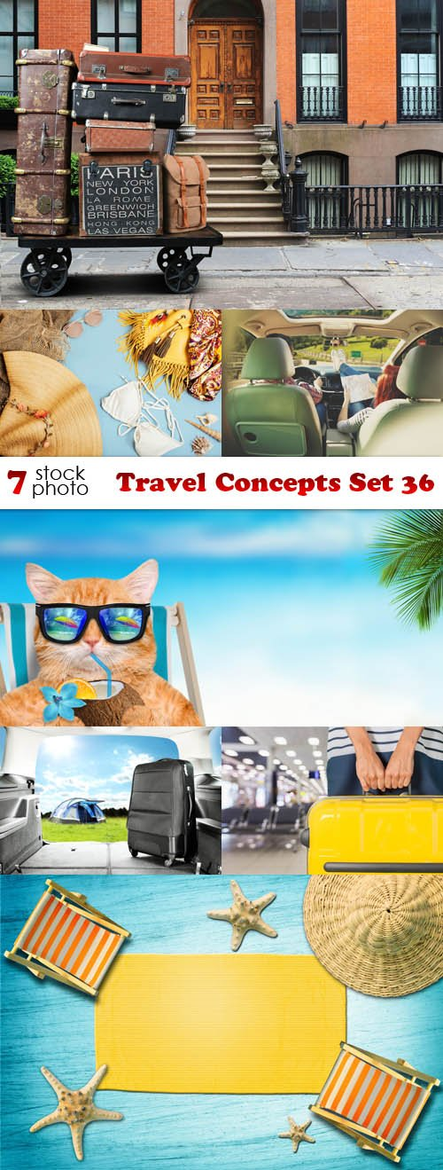 Photos - Travel Concepts Set 36