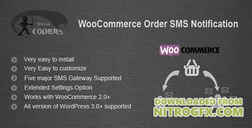 CodeCanyon - WooCommerce Order SMS Notification v1.9 - 8339735