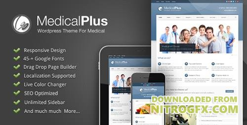 ThemeForest - Medical Plus v1.08 - Responsive Medical and Health Theme - 3015457