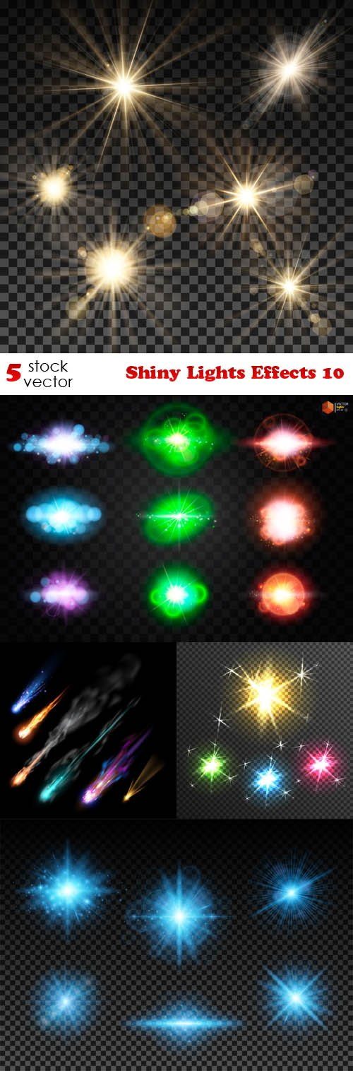 Vectors - Shiny Lights Effects 10