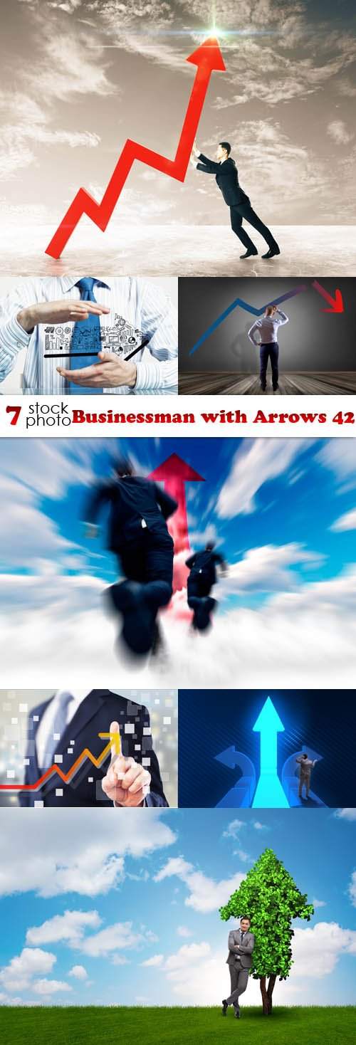 Photos - Businessman with Arrows 42