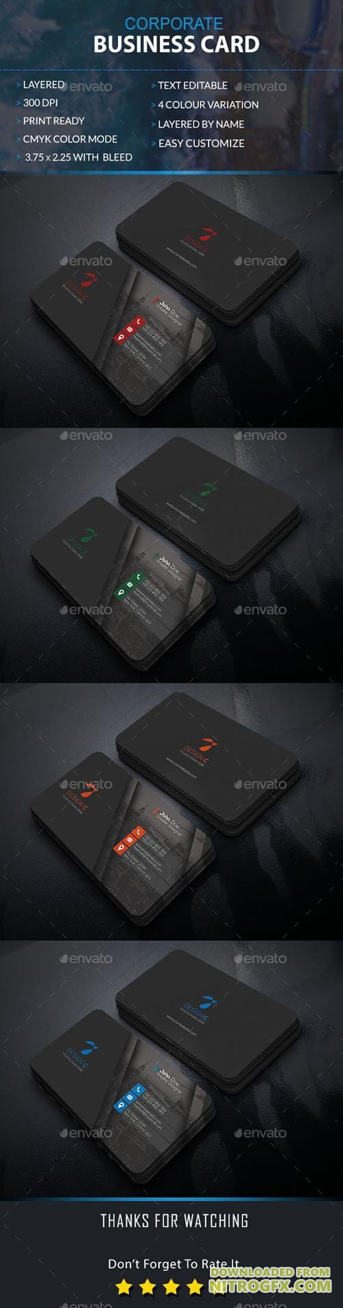 GraphicRiver - Business Card 20358777