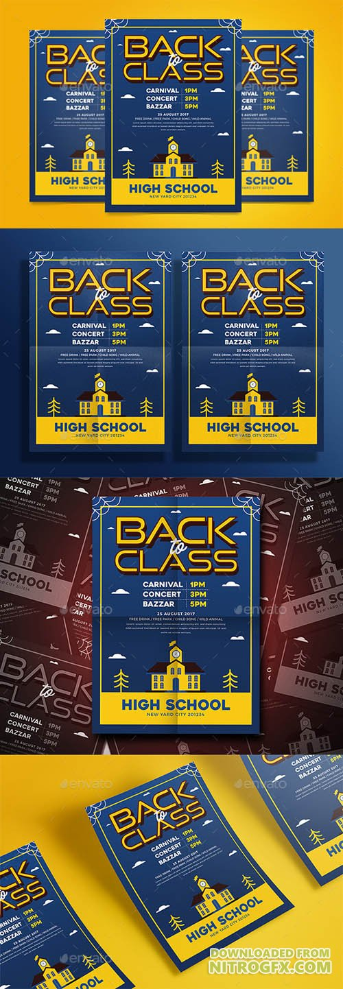 Back to Class Flyer 20443375