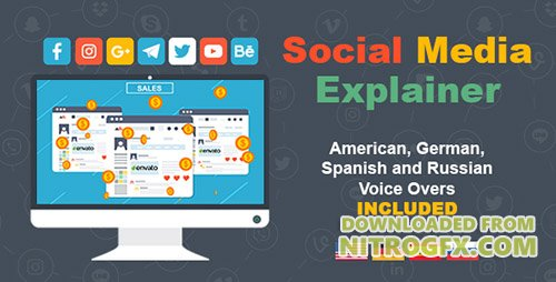 Social Media Explainer 19551859 - Project for After Effects (Videohive)