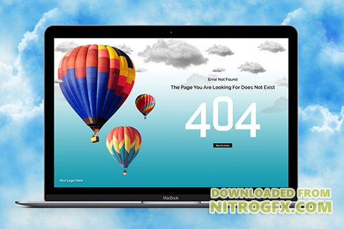 Travel & Tourism 404 Template
