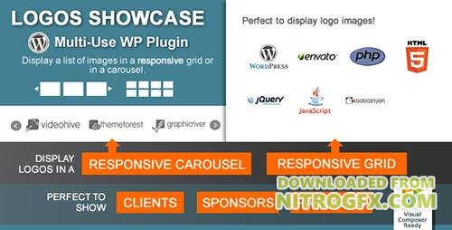 CodeCanyon - Logos Showcase v1.9 - Multi-Use Responsive WP Plugin - 4322745
