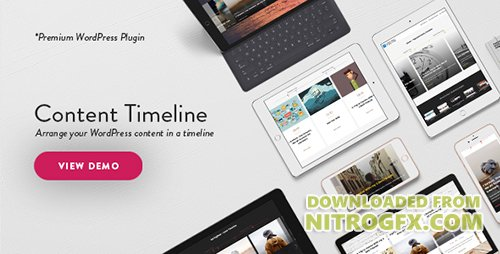 CodeCanyon - Content Timeline v4.4.2 - Responsive WordPress Plugin for Displaying Posts/Categories in a Sliding Timeline - 3027163