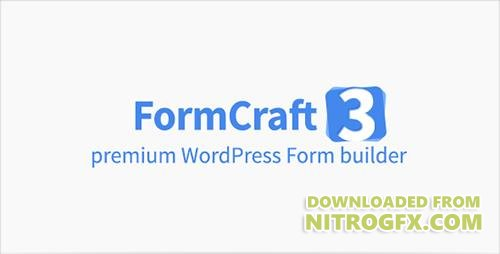 CodeCanyon - FormCraft v3.3.1 - Premium WordPress Form Builder - 5335056 - NULLED