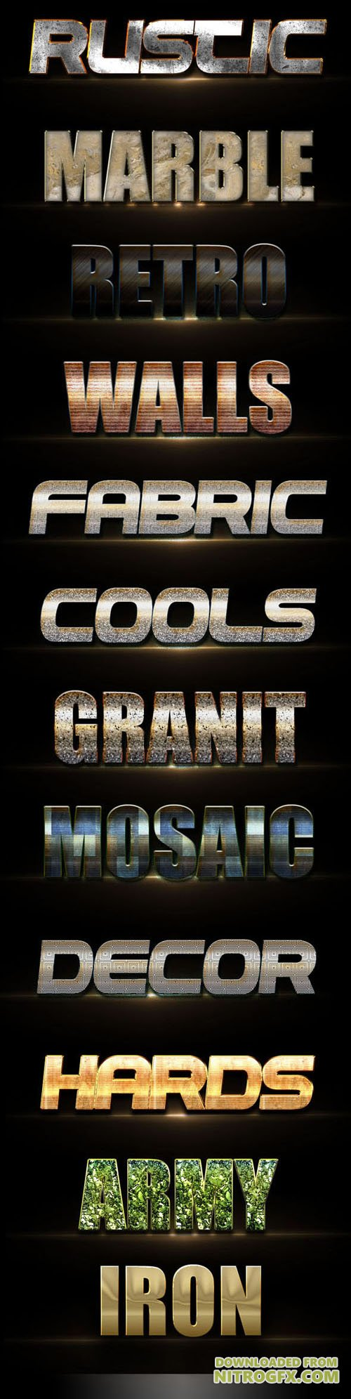 GraphicRiver - 10 3D Text Styles D_4 20402804
