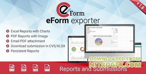 CodeCanyon - Exporter for eForm v1.6.1 - Reports & Submissions - 5702784