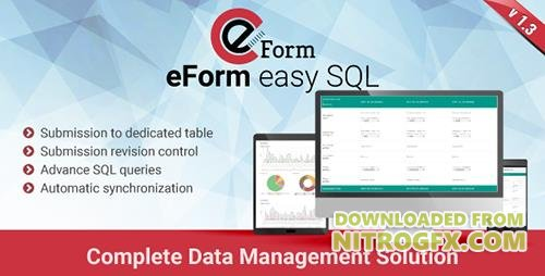 CodeCanyon - eForm Easy SQL v1.3.0 - Submission to DB & Revision Control - 14723482